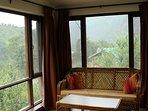 Sun Room. Overlooks River