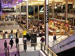 Food court at Westfield Stratford one of Europest largest malls. 10 minutes from local station.