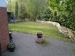 As well as the woodland, you also have you.r own private back garden