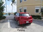 Assigned parking justs steps to your ground floor condo