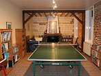 The Farmhouse has oil fired central heating so you can enjoy it's facilities even in winter.