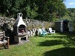 Bbq and garden hut