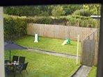 Large enclosed garden