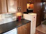 Fully equipped kitchen-5 burner gas hob,oven,dishwasher,washing machine,tumble dryer,Nespresso