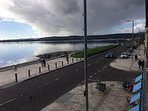 Views over the Clyde from the living room