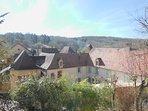 Vue du village depuis le séjour du Fournil