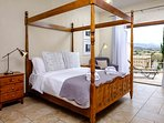 Master bedroom with private balcony with View of Ocean