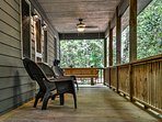 Unwind on the front porch and listen to the soothing sounds of the creek nearby.
