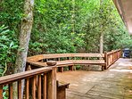 Enjoy grilling out on the massive back deck, surrounded by Mountain scenery.