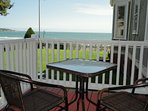 Private Deck Overlooking the Atlantic Ocean