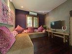 Villa Shambala - Guest wing living room