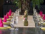 Villa Shambala - Dining setting