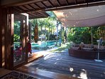Villa Shambala - Terrace area
