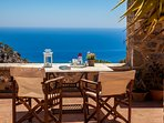 TERRACE VIEW TO THE LIBYAN SEA