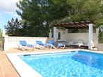 Amazing private pool area