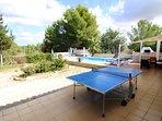 Table Tennis on the terrace