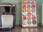 Keurig coffee/tea machine-gourmet coffees