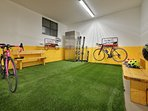 Garage auto, deposito sci e scarponi riscaldato, deposito bici