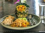 Our signature pineapple fried rice , the perfect villa lunch .