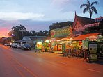 KRB and the sundown in Ayudhaya