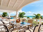 Crystal Sands Villa - Elegant dining al fresco!