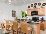 Crystal Sands Villa's second gourmet kitchen downstairs!