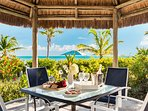 Crystal Sands Villa - Have a snack under the palapas!