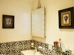 Newly refitted bathroom