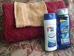 Shampoo and bath gels for your invigorating rub