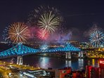 Montreal's international pyrotechnic contest lights up the summer!
