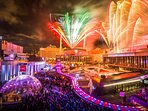The vibrant Place des Arts animated with festivals, shows, and venues all year long