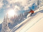 Canadian winter magic - Go skying at the nearby Mont Saint-Bruno ski station