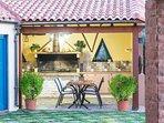 BBQ facilities for al fresco dining