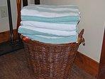 Hot tub towels