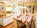 Dinner is ready! Cook you favorite meals in the newly remodeled kitchen.