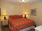 Enjoy spacious a spacious master bedroom.