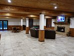 Large event/game room over 1500 sq. ft. in size on its own