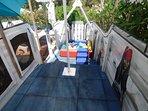 children shaded play zone