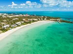Crystal Sands Villa's colors of the Turks and Caicos Islands!