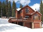 Five bedroom Alpine Vista, winter exterior view