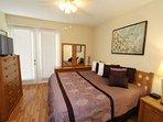 First Floor King Bedroom w/En-Suite Bath & Flat Screen TV - View #2