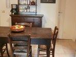 Kitchen: dining area