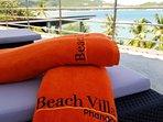 Our own beach towel.