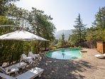 Beautiful Marin home | Pool & Views of Mt Tam