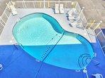 Max depth 8' pool