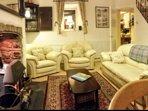 Sitting Room, Door to Kitchen, Stairs to Bedrooms