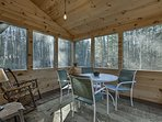 Enjoy afternoons in the new sunroom!
