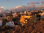 Das Dorf Tijoco Bajo auf ca. 240 Höhe, fantastische Aussicht