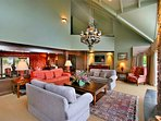 Lounge and mezzanine above