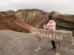 Guided tours to the crater on top of Tarawera